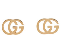 Gold GG Tissue Ohrstecker