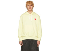 Yellow Heart Patch Hoodie