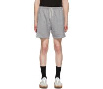 Linen Check Short