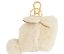 Shearling Bunny Charm Schlüsselbund