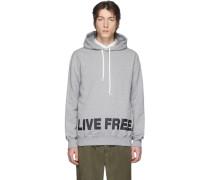 Grey Live Free Hoodie
