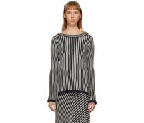 Serpentine Stripe Pullover