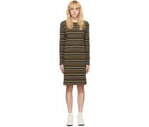Striped Rippstrickkleid