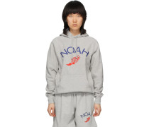 Wing Foot Embroidered Hoodie