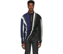 Glenn Martens Edition Striped Pique Polo