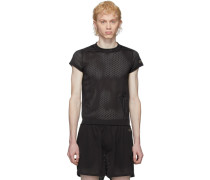 Black Champion Edition Mesh Small Level Tshirt