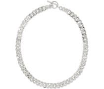 Large Sliced Link Halskette