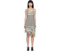 Striped Asymmetric Kleid
