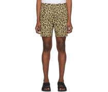 Leopard Pleated Short