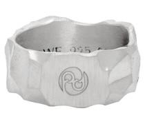 Carved Rauk Narrow Ring