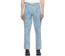 Paint Stroke Jeans
