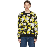 Patchwork Swallow Pullover