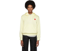 Off- Heart Patch Hoodie