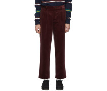 Corduroy Double-Pleat Hose