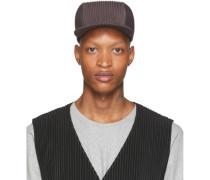 Grey Pleats Cap
