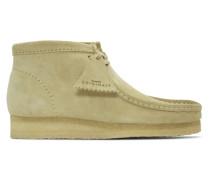 Grey Suede Wallabee Stiefels