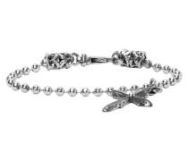 Cross Charm Disco Chain Armband