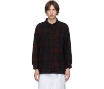 Wool Flannel Karohemd
