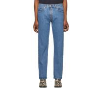 Crotch Zip Jeans