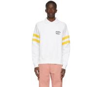 Spread Collar Crewneck Sweatshirt
