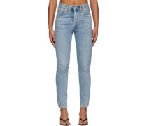 Liya High-Rise Classic Fit Jeans
