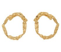 Gold Anouck Ohrring