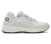 White Run Around Sneaker