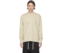 Distressed Signature Sweatshirt
