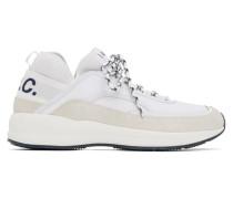 White and Grey Run Around Sneaker