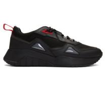 Black Atom Running Sneaker