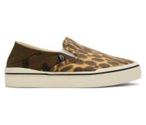 Cheetah Camo Slip-On Sneaker