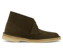 Khaki Suede Desert Stiefels