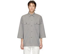 Poplin Tropical Shirt