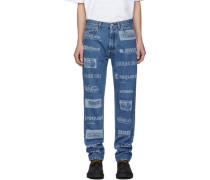 Fully Branded Jeans