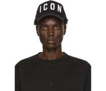 Black and White Icon Cap