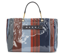Large Glossy Grip Shopping Tasche