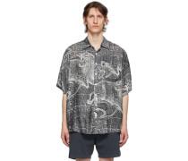 Silk Zodiac Short Sleeve Shirt