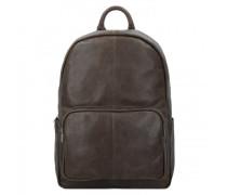 Backpack Mason Rucksack Leder storm grey