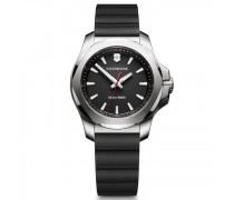 I.N.O.X. V Quarzuhr Edelstahl black silver black