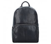 Backpack Mason Rucksack Leder black
