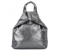 Boda X-Change City Rucksack Leder silver