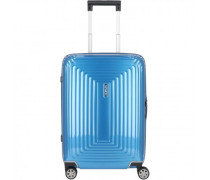 Neopulse Slim Spinner 4-Rollen Kabinentrolley metallic intense blue