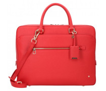 Lady Becky Aktentasche Laptopfach red