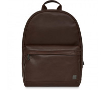 Barbican Rucksack Leder laptopfach brown