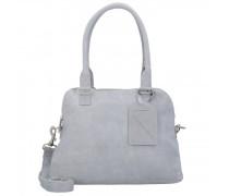 Bag Carfin Schultertasche Leder grey