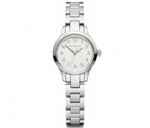 Alliance XS Quarzuhr Edelstahl white silver