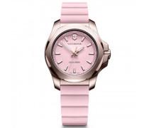 I.N.O.X. V Quarzuhr Edelstahl pink pink