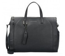 Muse Handtasche Leder Laptopfach black