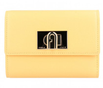 Geldbörse Leder crema
