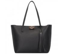 Mimi Shopper Tasche RFID Leder onyx